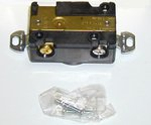 Image of the True 801927 power cord receptacle