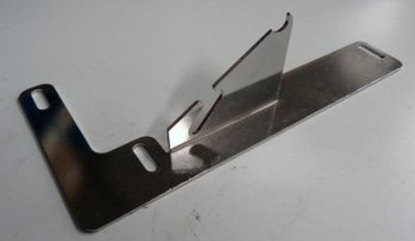 Image of the True 893520 left side lid hinge bracket