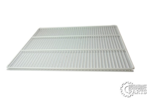 Side view of the shelf in the True 909468 (replaces 874074) shelving kit