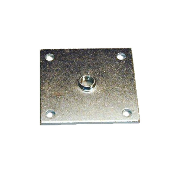 Top view of(872986 replaces 830416) castor or leg mounting plate