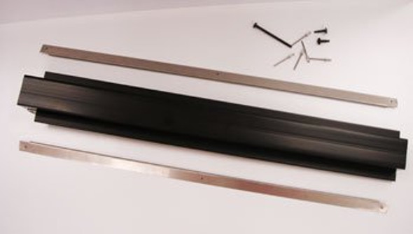 Image of the components of the True 872417 center trunnion kit.