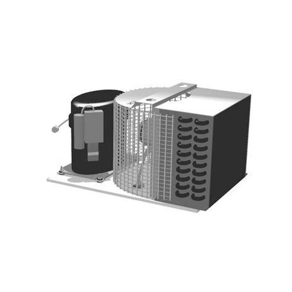 True 881260 condensing unit with TPA0413YXA Compressor by Tecumseh