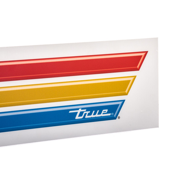 Image of the True Logo on the 883464 striped sign for GDM-49