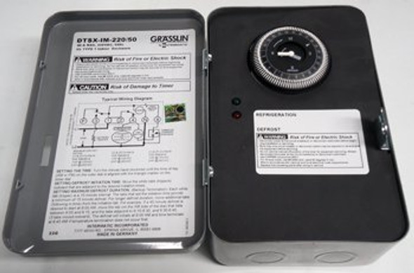 Image of the True 831997 defrost timer by Grasslin (DTSX-IM-220V)