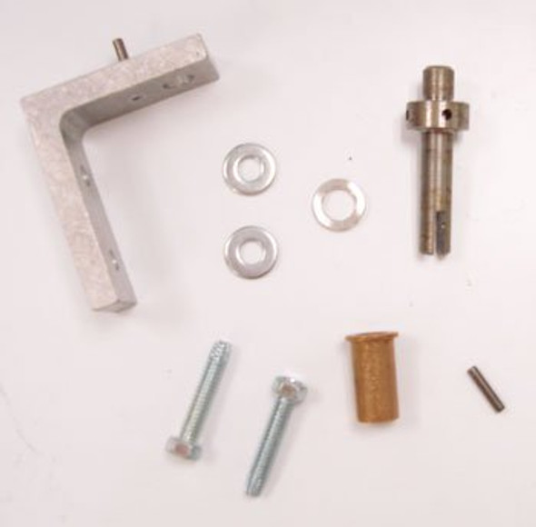 Image of the True 870801 door hinge kit with all included components