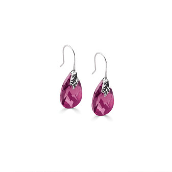 Fuchsia Drop Earrings (E2726)