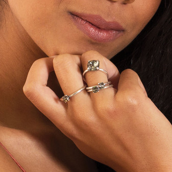 Petite Moonlight Ring