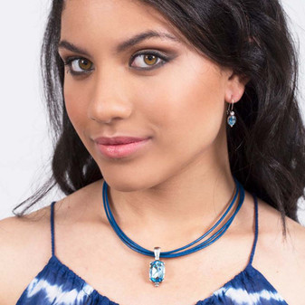 Manila Leather Necklace
