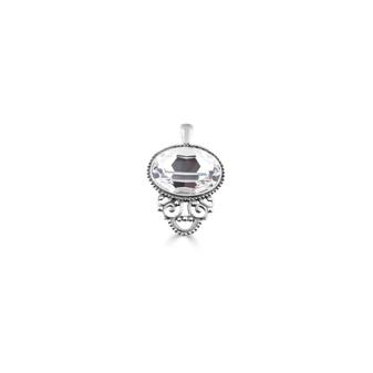 Brocade Crystal Pendant (EN854)