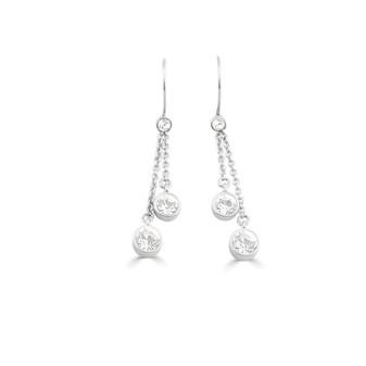Back to Basics Chain Drop Earrings (E926)
