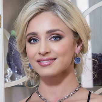 Denim Premier Drop Earrings
