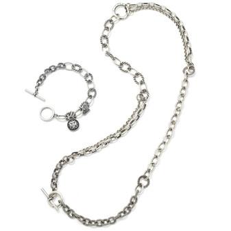 Batik Necklace and Bracelet Set (N1109 )