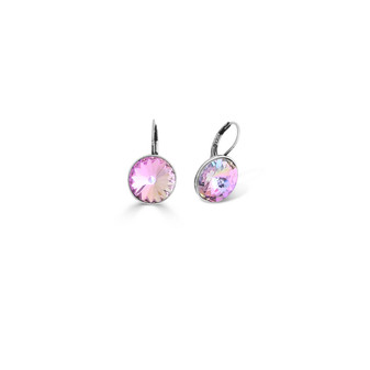 Rainbow Pink Drop Earrings