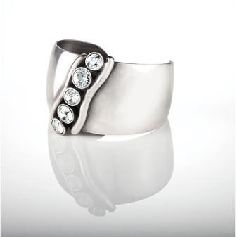Calypso Silver cuff (B1078)
