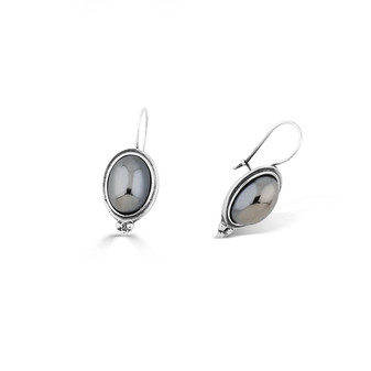 Obsession Hematite Drop Earrings (E4556)