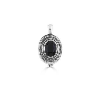Nova Jet Black Pendant (EN1771)