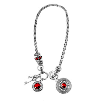Mozaic Scarlet Necklace (N2053)