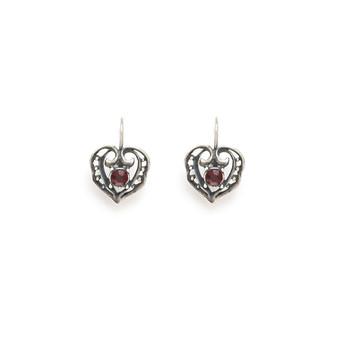 Hearts Of Love Drop Earrings (E930)