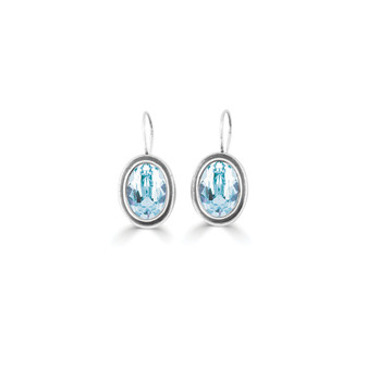 Solace Light Azure Drop Earrings (E4687)
