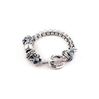 Denim Diva Bracelet  (B1566 S/M)
