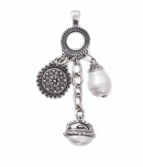 Pearls Of Love Pendant  (EN897)
