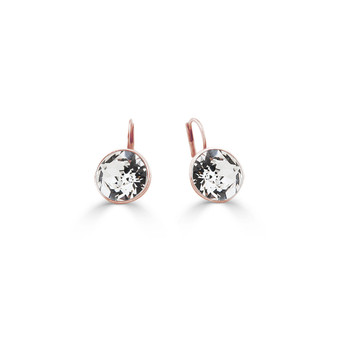22ct rose gold-plated Bold Glam Rock Earrings ( E4697 )