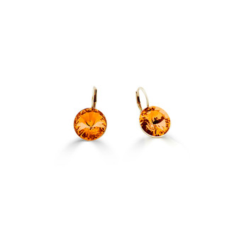 22ct gold-plated Tangerine Petite Glam Temptation Earrings (E4702 )