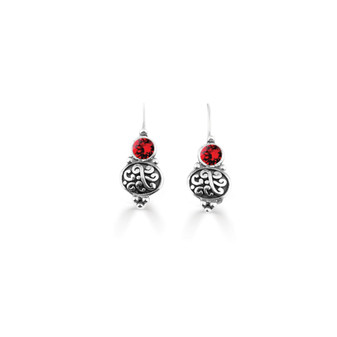 Scarlet Amour Drop Earring  (E4738)