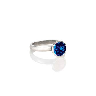 Petite Glam Rock Capri Blue Ring ( RR320 K/N/P/R )