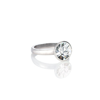 Glam Rock Crystal Ring (RR134 K/N/P/R)