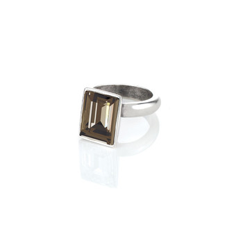 Temptation Smokey Quartz Ring ( RR157 K/N/P/R )