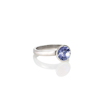 Petite Glam Rock Tanzanite Ring ( RR131 K/N/P/R )
