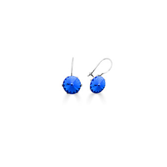 Spirit Of A Woman Sapphire Drop Earrings ( E4763 )