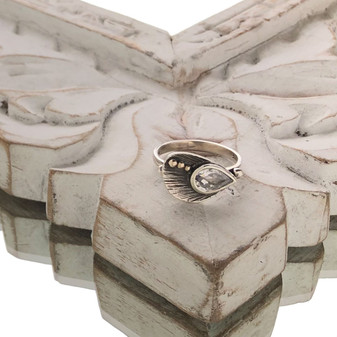 Urban Cool Ring - Sterling Silver 925 ∙ 9ct Gold
