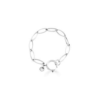 Silver Waves Bracelet