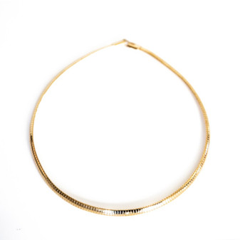 Sea Goddess Gold Choker