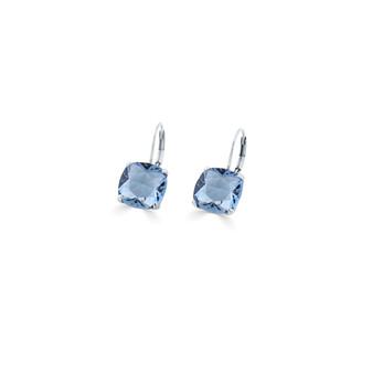Malia Denim Blue Drop Earrings