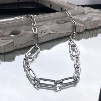 Modernist link Necklace