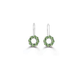 Peridot Heirloom Drop Earrings