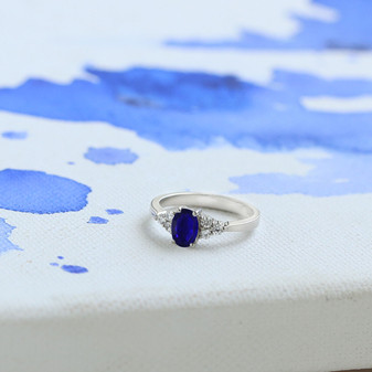 Sapphire Dreams Ring