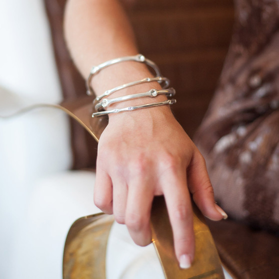 Back to Basics Bangle (B1066 XS/S/M/L)-£40