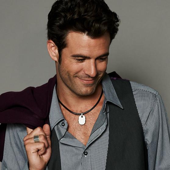Mason Leather Necklace  (N1373 M/L)