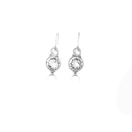 Infinity Drop Earrings