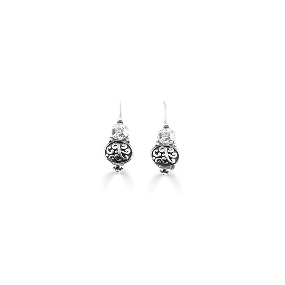 Crystal Amour Drop Earring  (E3276)