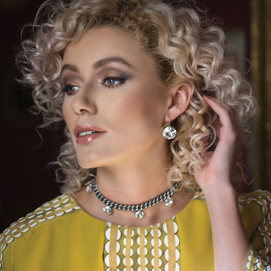 Lady Luxe Earrings (E4138)-£55