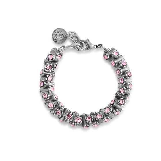 Light Rose Dazzling Bracelet (B1540)
