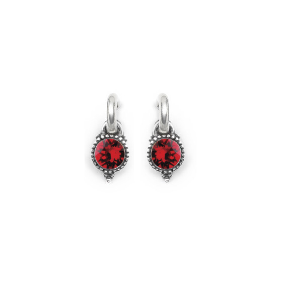 Scarlet Carefree Earring Charms (E4544)
