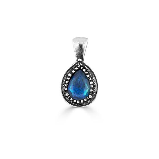 Petite Maya Blue Pendant