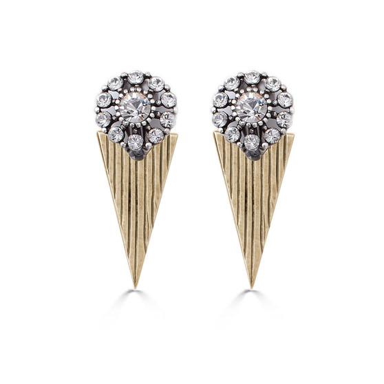 Calypso Old Gold Earrings (E4600)
