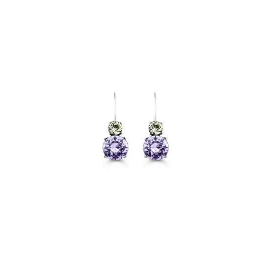 Orchid Drop Earrings (E4674)